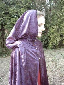 vampir umhang lila